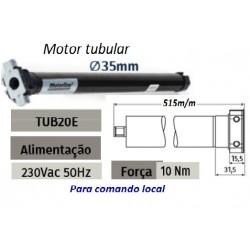 Motores tobulares para estores,cortinados,telas enrolar tubo oct. 40