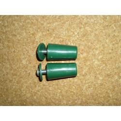 Batente cónico verde