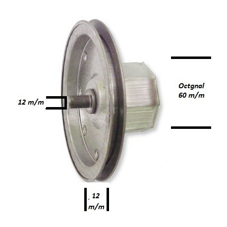 disco em chapa para estores de guincho