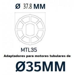 Motores tobulares 35 m/m para Estores, Cortinados, Telas enrolar