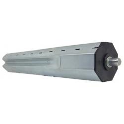 Topo extensivo em chapa para tubo octognal 60m/m