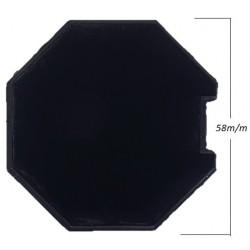 Topo octogonal extensivo 60m/m com rolamento de 12m/m