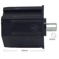 Topo octognal 60 mm com pivot de 12 mm para estores comando fita cardans e motores