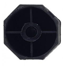 Topo octognal 50 mm varão de 10 mm para estores comando fita ou guincho